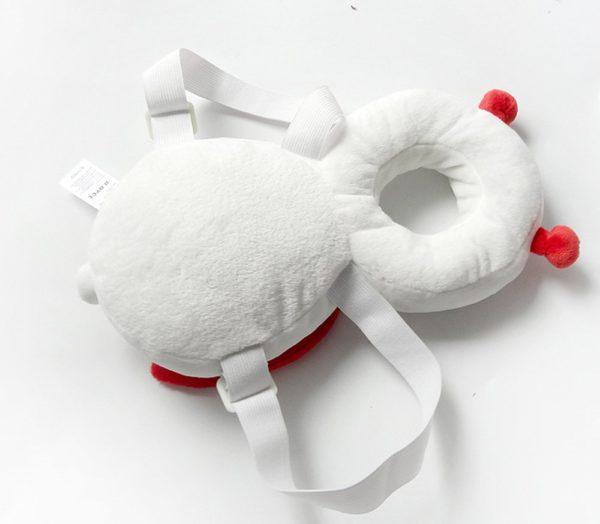 Baby head protector ladybug